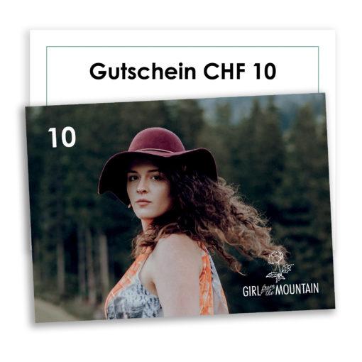 Gutschein Girl from the mountain