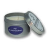 Alp in the moonlight travel candle