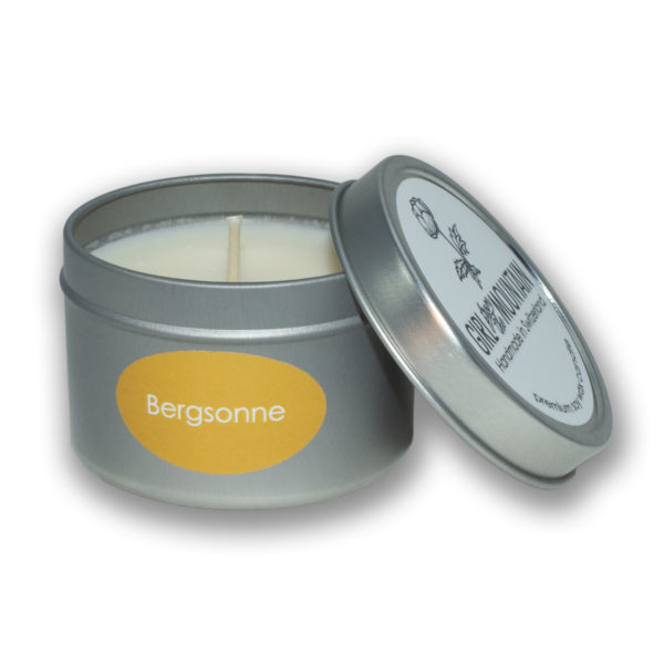 Bergsonne travel candle