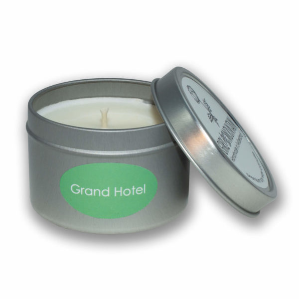 Grand Hotel travel candle