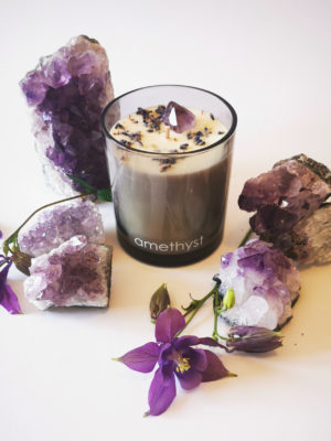 Amethyst candle switzerland