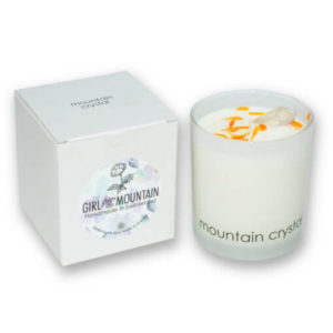 Mountain Crystal scented candle