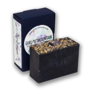 Natural soap amethyst
