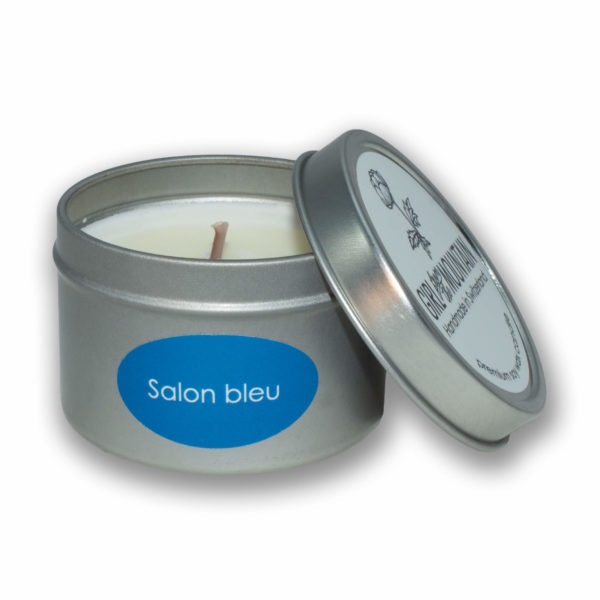 Salon bleu travel candle
