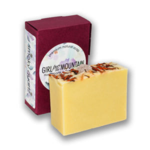 Smoky quartz natural soap