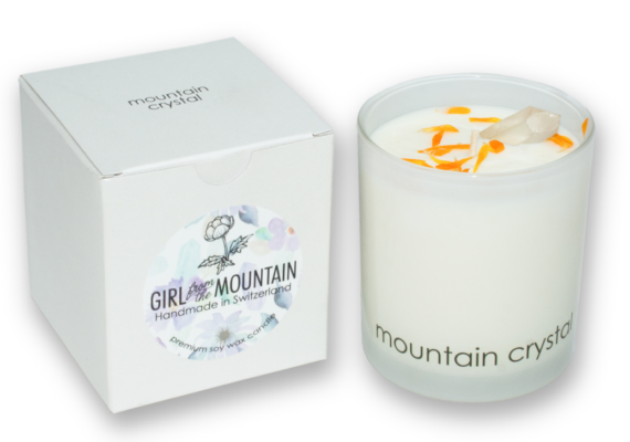 MOUNTAIN CRYSTAL CANDLE