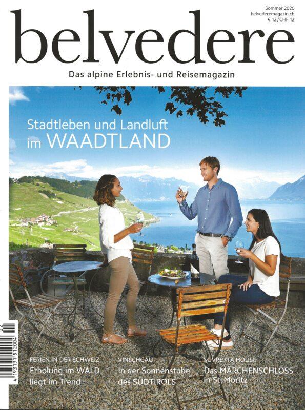 Presse artikel belvedere